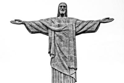 Cristo Redentor, Christ Redeemer, on Corcovado Mountain in Rio De Janeiro, Brazil by Kike Calvo