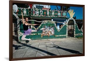 Cuban National Ballet Dancer At The Studio Of Cuban Artist Jose Fuster by Kike Calvo
