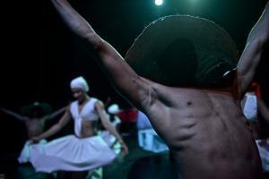 Dancers From The Bahia Folkloric Ballet, Locally Known As Bale Folclorico Da Bahia. by Kike Calvo