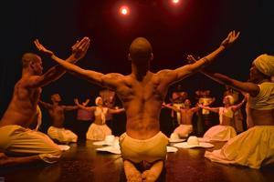 Dancers From The Bahia Folkloric Ballet, Locally Known As Bale Folclorico Da Bahia by Kike Calvo