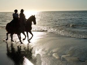 Horseback Riding on the Shore of Guanacaste by Kike Calvo