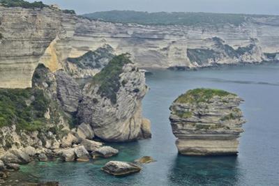 Limestone Sea Cliffs on the Island of Corsica by Kike Calvo