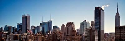 Manhattan Skyline with the Empire State Building and the Chrysler Building by Kike Calvo