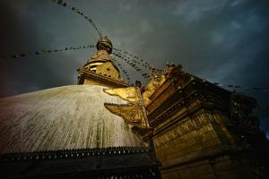 Swayambhunath Stupa, or Monkey Temple, in Kathmandu by Kike Calvo