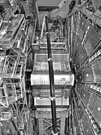 The Atlas Cavern Holds the Large Hadron Collider, a Particle Accelerator by Kike Calvo