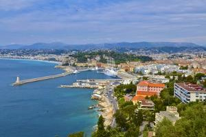 The Coastline of Nice, France by Kike Calvo