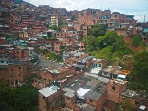 The Hillside Community of Santo Domingo in Medellin, also known as Comunas by Kike Calvo