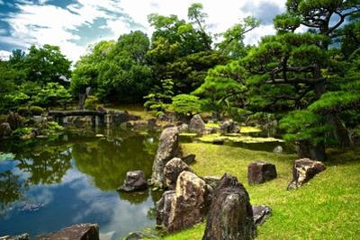The Pond of the Ninomaru Garden by Kike Calvo