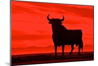 Toro De Osborne, an Unofficial National Symbol of Spain, First Created in 1956 by Manolo Prieto by Kike Calvo