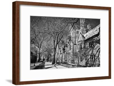 Winter Blizzard at Yale University