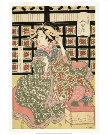 Courtesans of the Ogiya Brothel (1810-15)