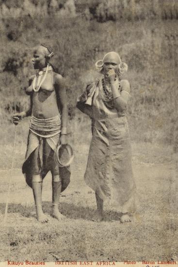 Kikuyu Beauties--Photographic Print