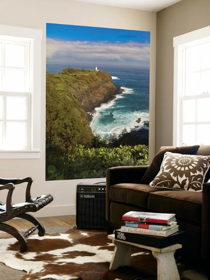 Kilauea Lighthouse, Kauai, Hawaii, USA-Fred Lord-Giant Art Print