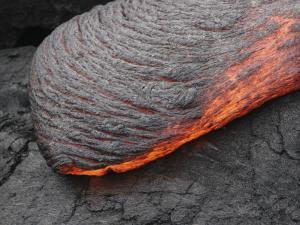 Kilauea Pahoehoe Lava Flow, Big Island, Hawaii