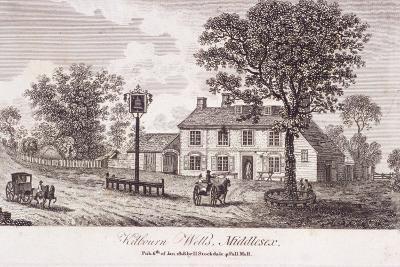 Kilburn Wells, Hampstead, London, 1818--Giclee Print