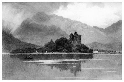 Kilchurn Castle, 1895-David Law-Giclee Print