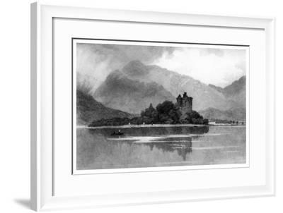 Kilchurn Castle, 1895-David Law-Framed Giclee Print