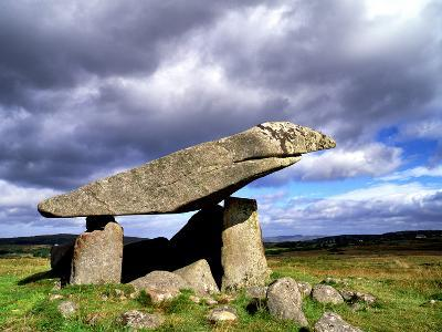 Kilclooney More Portal Tomb, in County Donegal, Ireland-Chris Hill-Photographic Print