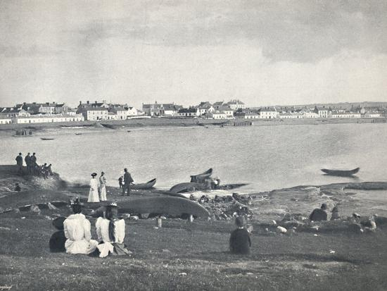 'Kilkee - Looking Across The Bay', 1895-Unknown-Photographic Print