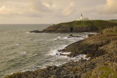 Killantringall Lighthouse, Near Portpatrick, Rhins of Galloway, Dumfries and Galloway, Scotland, UK-Gary Cook-Photographic Print