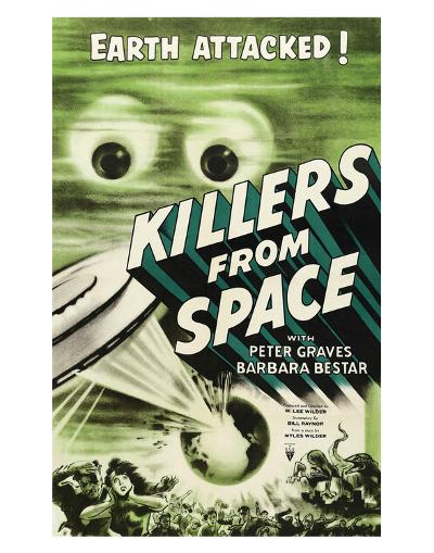 Killers From Space - 1954--Giclee Print