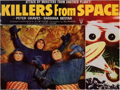 Killers from Space, 1954--Art Print