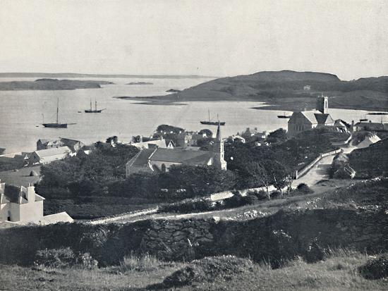 'Killybegs - Looking Over the Village and the Bay', 1895-Unknown-Photographic Print