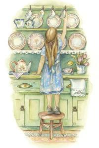 Preparing for Tea by Kim Jacobs