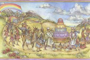 Princess Rosie's Rainbow Parade by Kim Jacobs