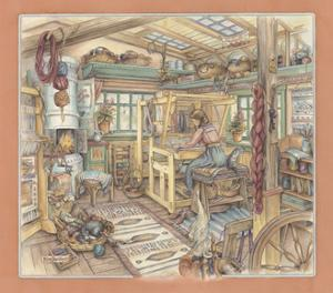 Weaving Room by Kim Jacobs