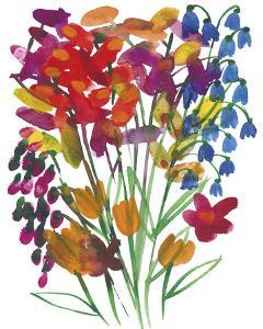 Spring Wild Flowers by Kim Johnson