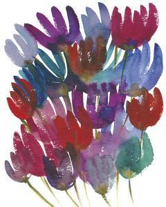 Watercolour Tulips by Kim Johnson