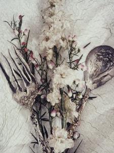 Flowers and Silverware by Kim Koza