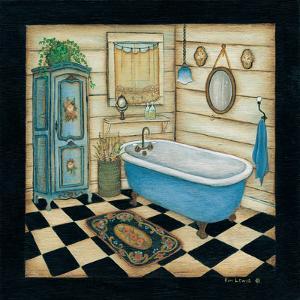 Blue Tub by Kim Lewis