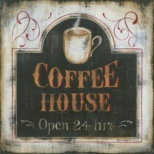 Coffee House Open 24 Hours by Kim Lewis