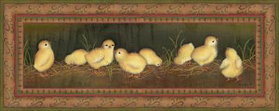 Eight Chicks by Kim Lewis