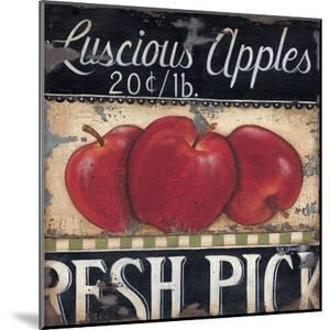 Luscious Apples by Kim Lewis