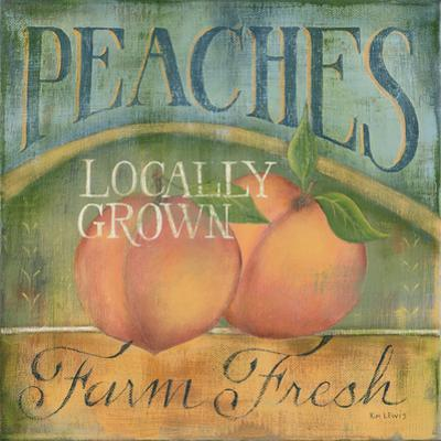 Peaches by Kim Lewis