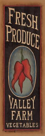 Peppers by Kim Lewis