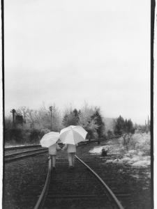 Umbrella Girls by Kim M. Koza