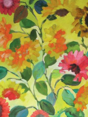 Provence Garden 1 by Kim Parker