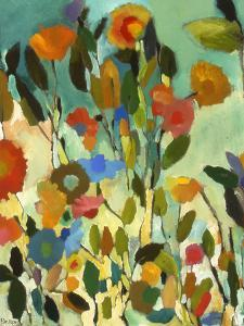 Turquoise Garden by Kim Parker