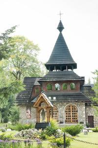 Wooden Church on the Edge of Tatra National Park, Zakopane, Poland, Europe by Kim Walker