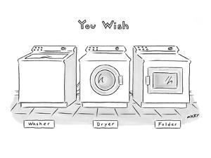"""You Wish"" - New Yorker Cartoon by Kim Warp"