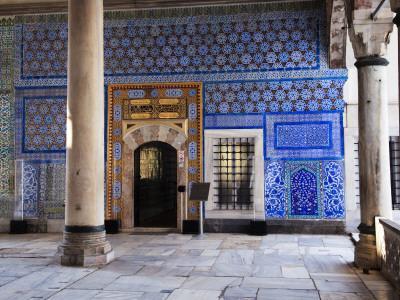 Iznik Tiles Adorning the Circumcision Room at Topkapi Palace