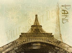 Below The Eiffel Tower by Kimberly Allen