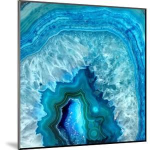Blue Geo 2 by Kimberly Allen