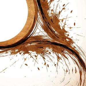 Copper Swirls 1 by Kimberly Allen