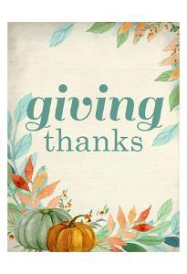 Giving Thanks by Kimberly Allen