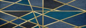 Gold and Blue Maze by Kimberly Allen